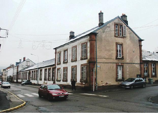 Ancienne école de la rue du 10ème B.C.P. / Nouveau C.I.O.